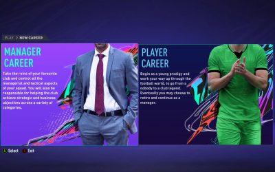 Modul Carieră – îndeplinește-ți visul și antrenează echipa ta preferată